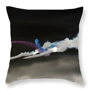 Coming Out From The Darkness Throw Pillow