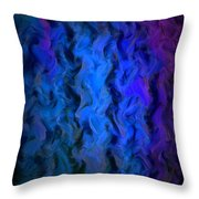 Coming Out Of The Dark Throw Pillow