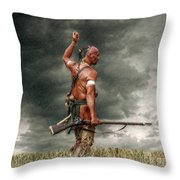 Coming Storm Throw Pillow by Randy Steele