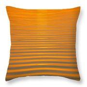 Coming Through In Waves Throw Pillow