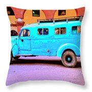 Command Vehicle Throw Pillow