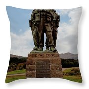Commando Memorial 2 Throw Pillow