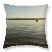 Commencement Bay 1 Throw Pillow