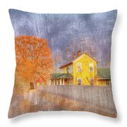 Commerce Mo Throw Pillow