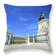 Commerce Square Lisbon Throw Pillow