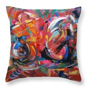 Committee Action Throw Pillow