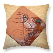 Communion - Tile Throw Pillow