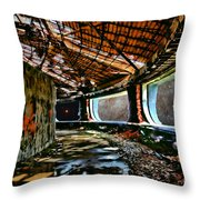 Communists In Space Throw Pillow