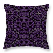 Community Garden Two Abstract Throw Pillow
