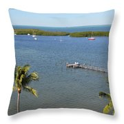 Community Harbor Throw Pillow