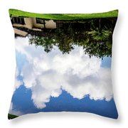 Community Reflections Throw Pillow