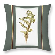 Compass Plant, Fall Throw Pillow