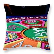 Compassion Mandala Throw Pillow