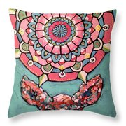Compassion Orb Throw Pillow