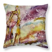 Compassionate Throw Pillow