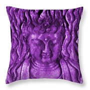 Compassionate One Co-3 Throw Pillow
