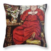 Complacency.  Throw Pillow