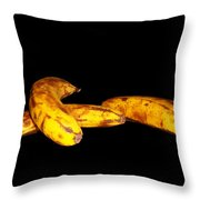 Completely Bananas Throw Pillow