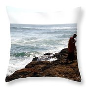 Completion Throw Pillow