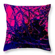 Complex Abstract Throw Pillow