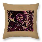 Complex Artist  Throw Pillow