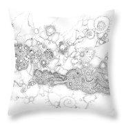 Complex Fluid A Novel Surfactancy Throw Pillow