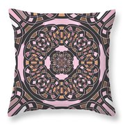 Complex Geometric Abstract Throw Pillow