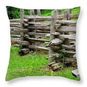 Complex Pattern Throw Pillow