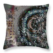 Complexity City Throw Pillow