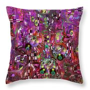 Complexity Throw Pillow by Marko Mitic