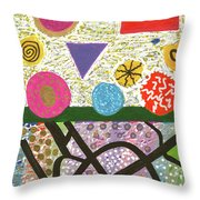 Complicated Introspection Throw Pillow