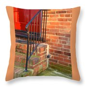 Complimentary Opening Throw Pillow