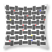 Composition 2 Throw Pillow