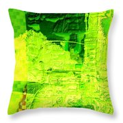 Composition Number 1 Throw Pillow