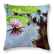 Composition Of Beauty Throw Pillow
