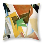 Compostion 1921 Throw Pillow