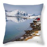 Composure - Vertical Throw Pillow