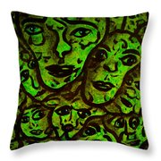 Compressed Throw Pillow