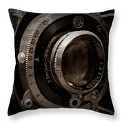 Compur Relic Throw Pillow