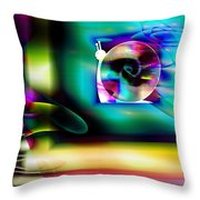 Computer Bugs Series 2 Of 7 Throw Pillow