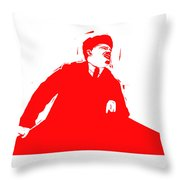 Comrade L Throw Pillow