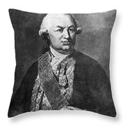 Comte De Grasse (1722-1788) Throw Pillow by Granger