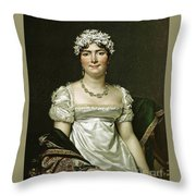 Comtesse Daru Throw Pillow