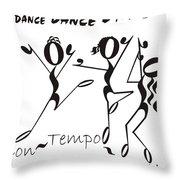Con-tempo-rary Throw Pillow