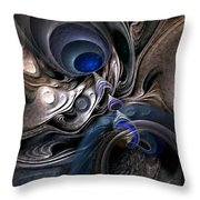 Concatenations Throw Pillow