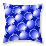 Concave And Convex Throw Pillow