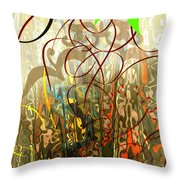 Concealed Treasure Throw Pillow