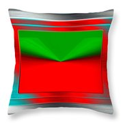 Conceptual 12 Throw Pillow