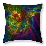 Conceptual Alchemy Throw Pillow