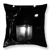 Concert Ambiance Throw Pillow